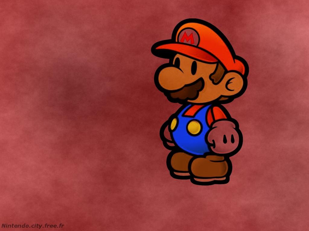 fond d'édran Mario