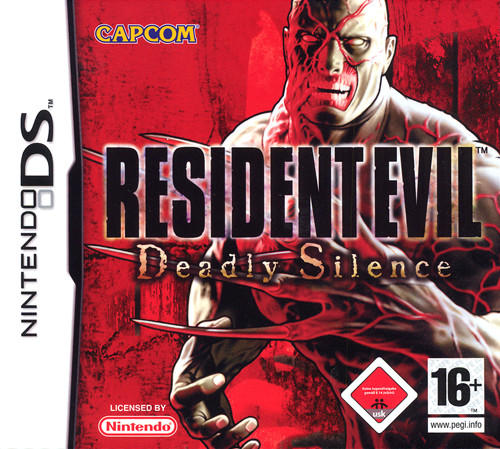 jaquette resident evil silence