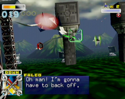 screen lylat wars 64 2